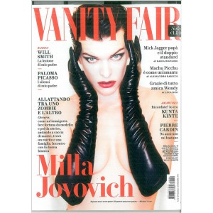 Vanity Fair - settimanale n. 50 - 21 Dicembre 2016 - Milla Jovovich