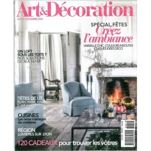 ART & Décoration - mensile n. 519 Dicembre 2016