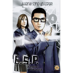 Manga: SF Collection 09 – E.S.P. Attenti! Sono un Esper! 04  - Goen editore