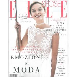"""ELLE SPOSE - rivista n. 13 Gennaio 2017 """"Emozioni di Moda"""""""