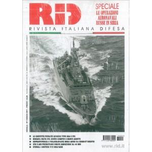 RID (rivista Italiana Difesa) - mensile n. 1 Gennaio 2017