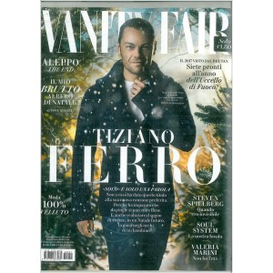 """Vanity Fair  - settimanale n. 51 28 Dicembre 2016 """"Tiziano ferro"""""""
