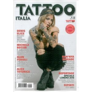 Tattoo Italia - bimestrale n. 59 Gennaio 2017