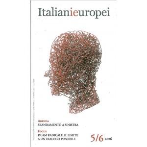 Italianieuropei - bimestrale 5/6 del 2016 Gennaio 2017