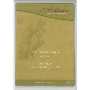 DVD il caffè filosofico vol. 16 Maurizio Ferraris racconta Derrida