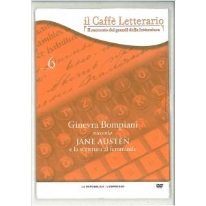 DVD il caffè letterario vol. 6 Ginevra Bompiani racconta Jane Austen