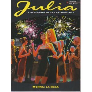 JULIA. N. 216. MYRNA : LA RESA. 132 PAGINE. SETTEMBRE 2016. MENSILE.