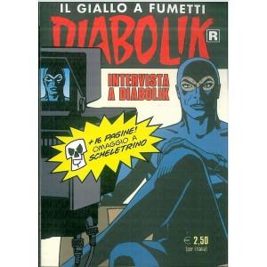 "Diabolik Ristampa - mensile 667 "" intervista a Diabolik"""