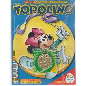 TOPOLINO n. 3169 senza medaglia celebrativa - 23 Agosto 2016