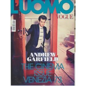L'UOMO VOGUE. N. 473. MENSILE SETTEMBRE 2016.