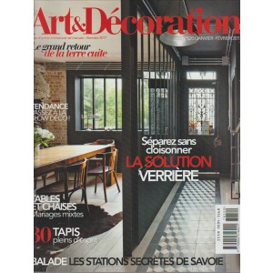 Art & Décoration - mensile n. 520 Gennaio 2017