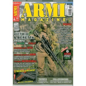Armi Magazine - mensile n. 2 Febbraio 2017