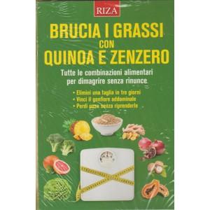 Brucia i Grassi con Quinoa e Zenzero by RIZA editori