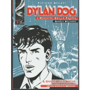 Dylan Dog - I Maestri della paura vol.3 di Tiziano Sclavi- Il Canto della Sirena