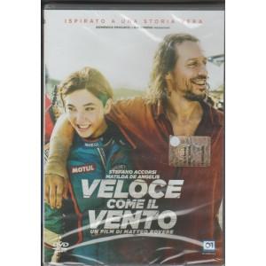 DVD Veloce come il Vento-Regista:Matteo Rovere c/Stefano Accorsi, Matilda De Angelis