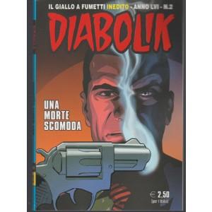 Diabolik il giallo a fumetti inedito n. 2 /2017 Una morte Scomoda