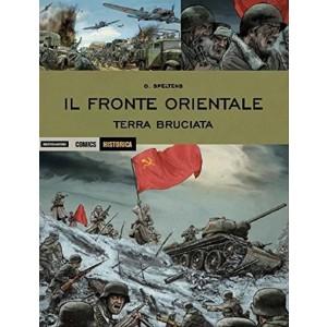 Il fronte orientale. Terra bruciata  Historica vol. 52 Mondadori Comics