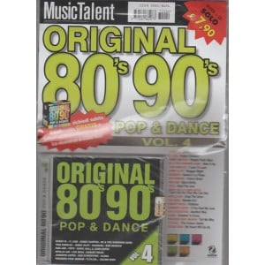 CD  Original 80'S & 90'S Pop & dance Vol. 4