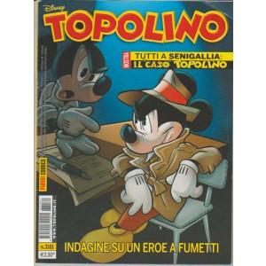 """Topolino - Settimanale n. 3161 - 28 Giugno 2016 """"Indagine su un eroe a fumetti"""""""