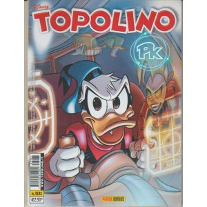 Topolino - settimanale n. 3181 - 15 Novembre 2016