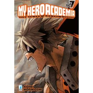 Manga: MY HERO ACADEMIA #7 - Tar comics collana Dragon #224