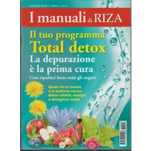 I Manuali di Riza bimestrale - il tuo Programma  Total Detox