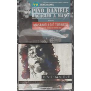 """CD + Book PINO DANIELE """"Masaniello è turnato"""" 2 uscita Bagalio a mano Pino Daniele"""