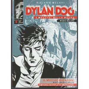 Dylan Dog -I Maestri della paura vol. 5 di Tiziano Sclavi-Il Vecchio che Legge