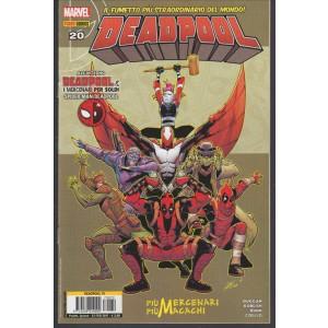 Deadpool N. 20 / 79 - Marvel Italia - più mercenari più macachi