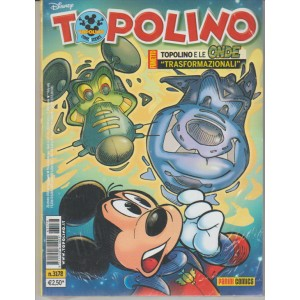 Topolino Disney - settimanale n. 3178 - 25 Ottobre 2016