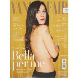 "Vanity Fair - Settimanale n. 12 - 29 Marzo 2017 ""Paola Turci"""