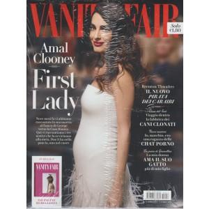 Vanity Fair  - settimanale n. 13 - 5 Aprile 2017 - Amal Clooney + Beauty Vanity