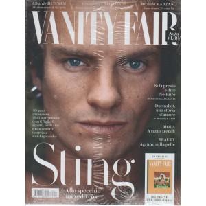 "Vanity Fair  - Settimanale n. 14 - 12 Aprile 2017 "" STING """