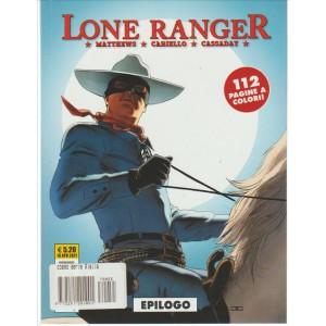"""Cosmo Serie Gialla - Lone Ranger n. 5 """"Epilogo"""""""