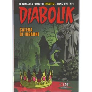 """Diabolik (il giqllo a fumetti inedito) n. 4 / 2017 - """"Catena di inganni"""""""