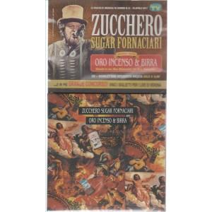 """CD Zucchero """"Sugar Fornaciari"""" - Oro incenso & birra - by Sorrisi e canzoni TV"""