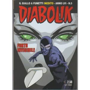 """Diabolik (il giallo a fumetti inediti) - n.5 /2017 """"Furto invisibile"""""""