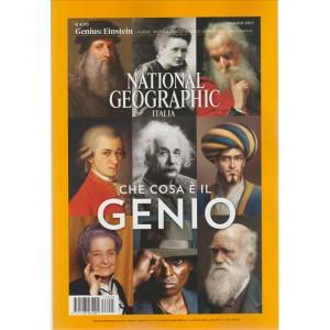 National Geographic in Italia - mensile n. 5 Maggio 2017 - Che Cosa è Il Genio