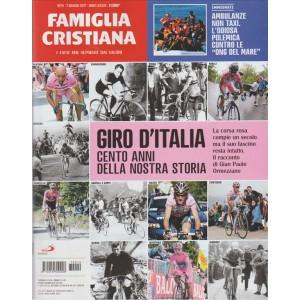 """Famiglia Cristiana - settimanale n. 19 - 7 Maggio 2017 """"Giro d'Italia"""""""