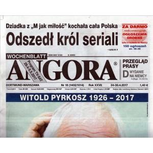 ANGORA settimanale di attualità n. 18 24/04/2017 in lingua Polacca