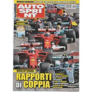 """Autosprint - settimanale n. 19 - 9 Maggio 2017 """"Verso GP Spagna"""""""