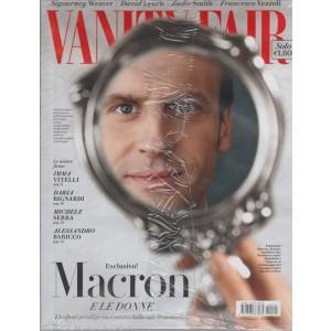 "Vanity Fair - Settimanale n-. 18 - 10 Maggio 2017 ""Macron  e le donne"""