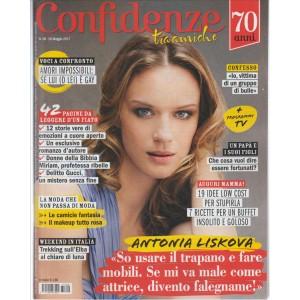 """Confidenze - Settimanale n. 20 - 10 Maggio 2017 """"Antonia Liskova"""""""