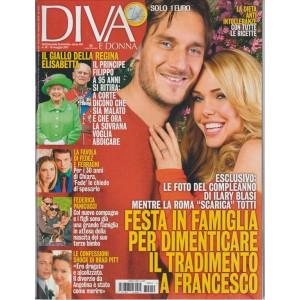 """Diva e Donna - Settimanale n. 19 - 6 Maggio 2017 """"Famiglia Totti"""""""