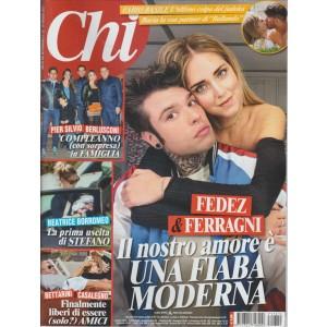 """CHI - settimanale n. 21 - 10 Maggio 2017 """"Fedez & Ferragni"""""""