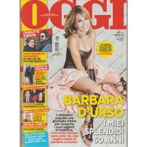 """Oggi - settimanale n. 21 - 18 Maggio 2017 """"Barbara D'Urso"""""""
