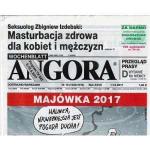 ANGORA settimanale di attualità n. 19 - 1/05/2017 in lingua Polacca