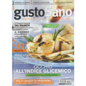 GustoSano - mensile n. 33 Maggio 2017