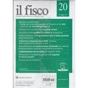 Il Fisco - settimanale n. 20 15 Maggio 2017