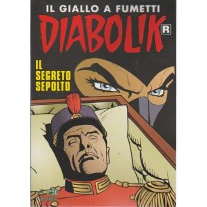 DIABOLIK. IL GIALLO A FUMETTI. IL SEGRETO SEPOLTO. N. 663. MENSILE.